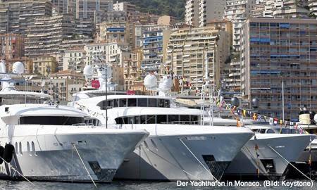Der Yachthafen in Monaco. (Bild: Keystone)