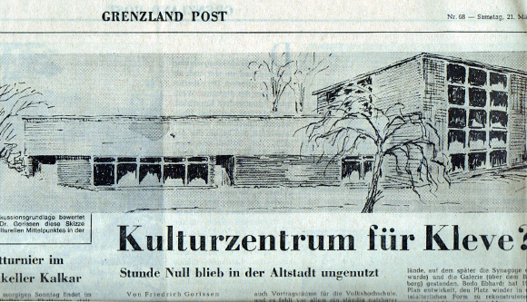 Grenzland Post 21 März 1970